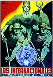 International Brigades poster