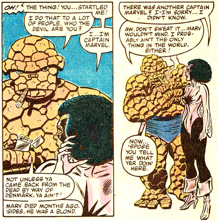 Monica Rambeau meets the Thing