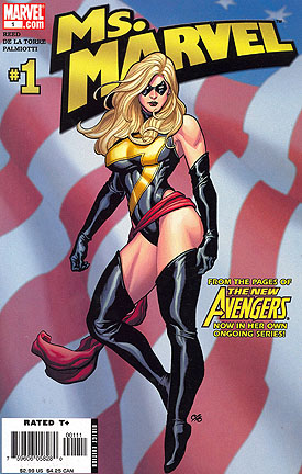 First issue of Ms. Marvel after the House of M