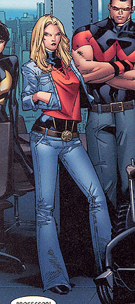Carol Danvers moments before the House of M kicks in